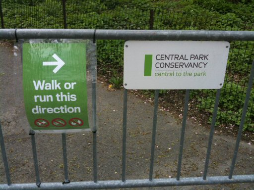 NYC Central Park 2011, run this direction!