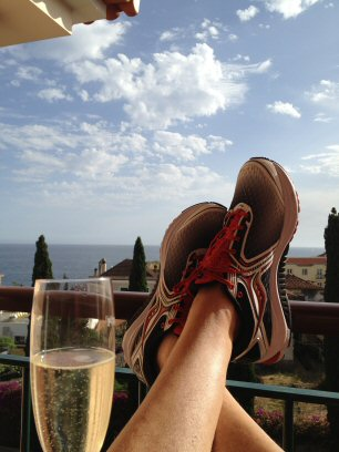 La Palma 2013, recoverydrink post running