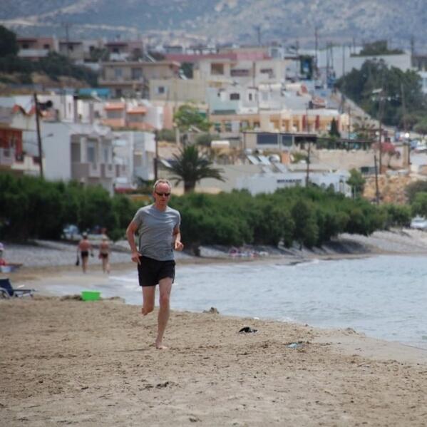 barefoot, Kreta 2014